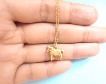 Dala horse, Swedish, Horse, Gold, Silver, Necklace, Dala, Horse, Animal, Jewelry, Birthday, Friendship, Mom, Sister, Gift, Jewelry