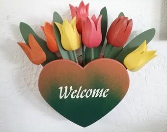 TULIP WELCOME HEART
