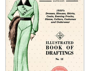 The Haslam System of Dressmaking No. 12 1930's - PDF Booklet Instant Download
