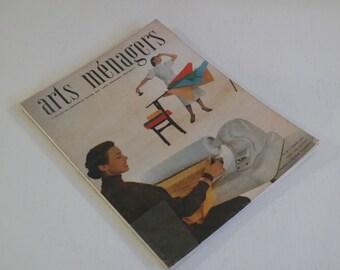 "February 1953 ""Domestic Arts"" magazine France"