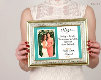 Personalized Bridesmaid Gift, Maid Of Honor Gift, Best Friend, Sister