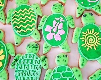 Sea turtle cookies (12)