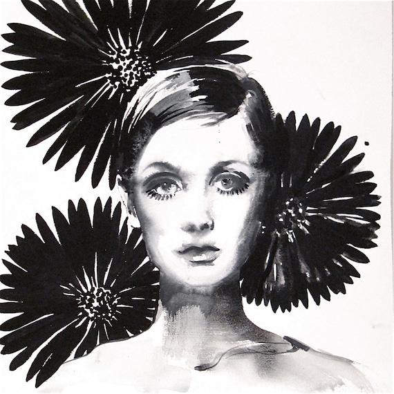 Twiggy 3 by Gretchen Kelly