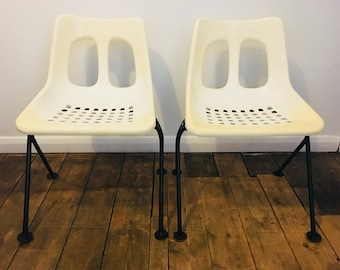 Mid Century chairs | Vintage pair of Overton chairs