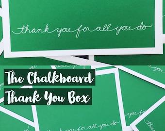 The Chalkboard Thank You Box