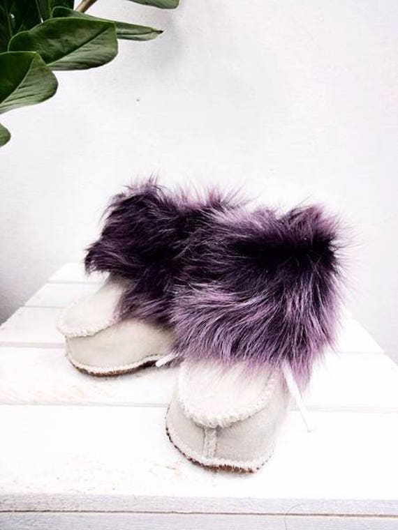 Real Leather Kids' Shoes. Genuine Leather & Sheepskin Slippers For Kids. Sheepskin Booties For Kids. Sheepskin Kids' Shoes.