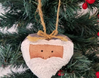 Painted Santa Claus Ornament