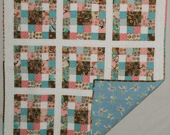 Girl, baby quilt or wall hanging