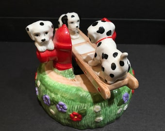 Music box with dalmations