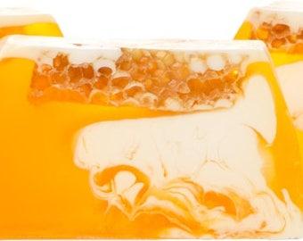 Soap with honey, Honey soap