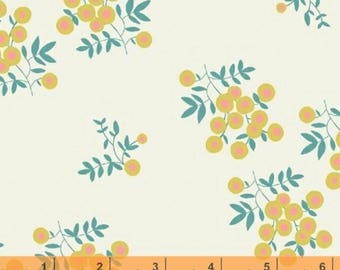 Maribel - Dot Floral Cream by Annabel Wrigley from Windham Fabrics