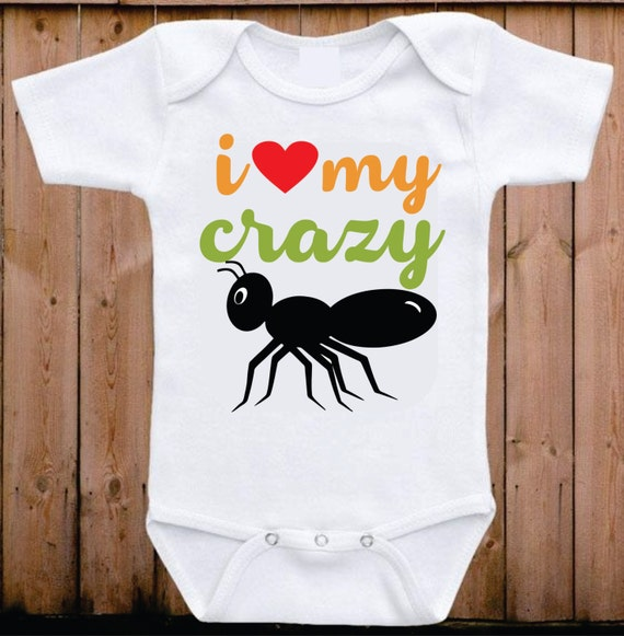 i love my crazy aunt baby onesie my aunt loves me i love my