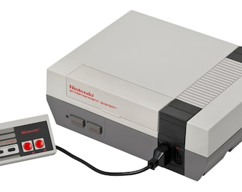 ORIGINAL NES SYSTEM, Nintendo Console, Nintendo System - With controller and all cables