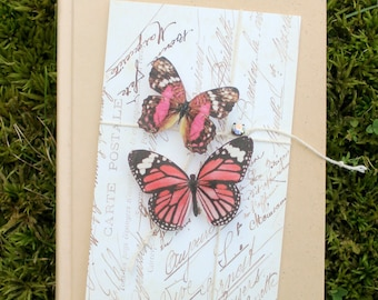 collection no. 10 silk butterflies . hair clips, pins, magnets . realistic gifts for birthday, wedding, bridesmaids, parties, every day use