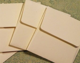 "24 Envelopes, Mini Envelopes, Square Envelopes, Card Stock Envelopes, Choice of Color ... 2-1/4"" x 2-1/4"""