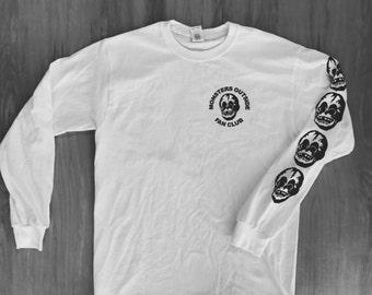 Monsters Outside Fan Club Long Sleeve Tee Shirt