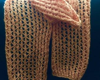Lacy Knit Scarf