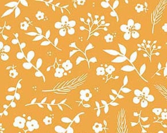Sweet Prairie Floral Yellow - C6546-Yellow by Sedef Imer of Down Grapevine Lane for Riley Blake Designs