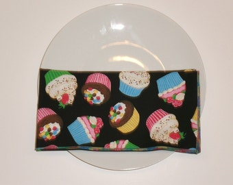 Cupcake 20-Inch Large Cloth Napkins - Set of 4  - HANDMADE - More Available