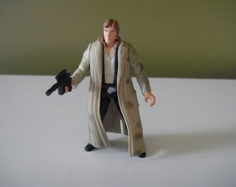 Vintage Star Wars  - Han Solo in Endor Gear - Power of the Force - 1997