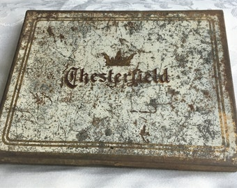 Chesterfield Metal Cigarette Case