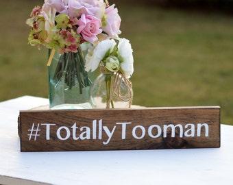 "Wood hashtag sign, wedding hashtag sign, rustic wedding sign, photo prop, custom sign, 3.5"" x 15"""