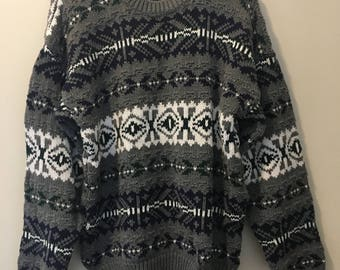 Awesome VINTAGE GAP Faire-Isle Sweater
