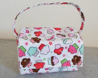 Kid's Insulated Lunch Bag - Cupcakes