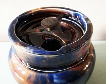 Vintage Clifton Pottery Tobacco Jar