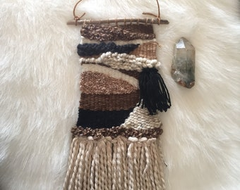 Rustic Mini Weaving