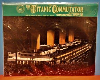 TITANIC COMMUTATOR MAGAZINE...Official Publication Of The Titanic Historical Society...4th Quarter Of 1997