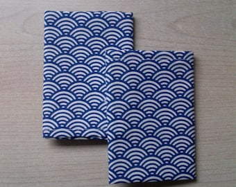 4 cloth handkerchiefs washable eco-friendly ZERO waste