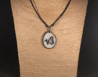 Capricorn Tagua Nut Necklace