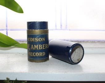 Antique Edison Cylinder Record 3322 Huckleberry Finn