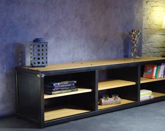 Cabinet Tv or another iron and wood
