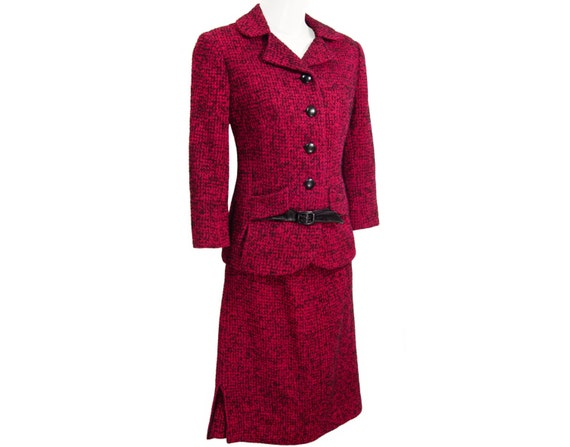 1950s Couture Vintage Don Wool Rare Loper Vintage Hills Suit Exquisite Beverly Collectible Craftsmanship xY74qwFY
