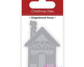 Die cut or cut House Dovecraft Christmas scrapbooking card making (ref.110) templates *.