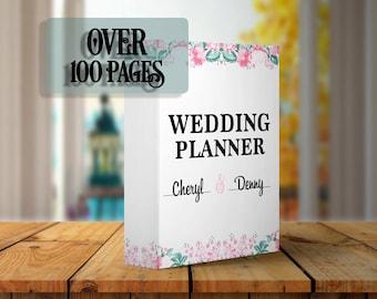 Wedding Planner | Wedding Binder | Printable Wedding Binder | Printable Wedding Planner