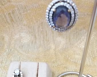 Earrings LUXURY Elisabeth Violet