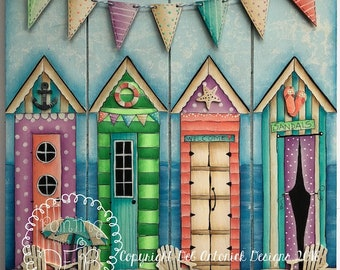 Life's a Beach by Deb Antonick, email pattern packet