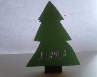 mark up tree in green and Brown 3d in packs of 5