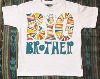 Personalised Big Brother / Big Sister T-Shirt