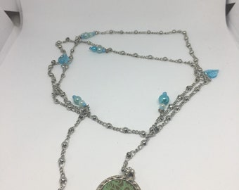 Tie necklace jewelry for human