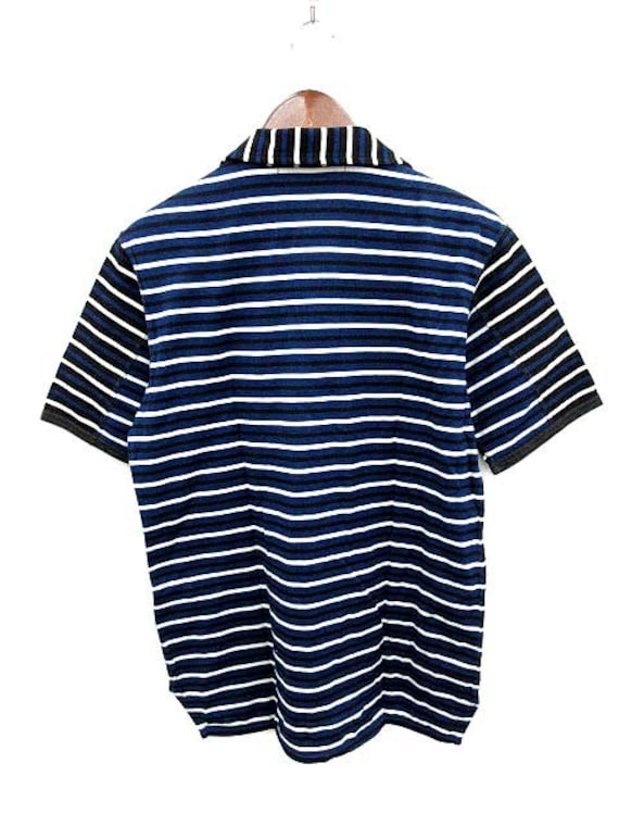 Large Watanabe Comme Shirt Garcons Des Navy Junya Stripes vPfwfq