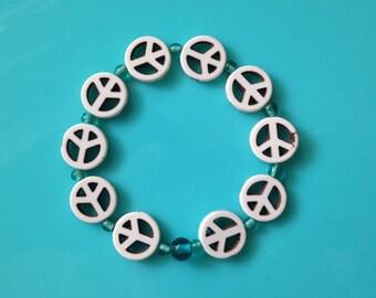 Elastic Peace Bracelet