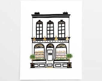 La Boulangerie - Art Print - 8x10