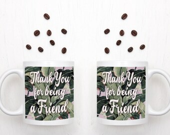 Golden Girls Mug - Thank You For Being A Friend - New Item - 11oz Coffee Mug - Gift for Her