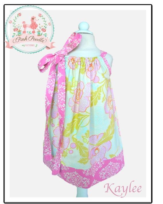 Girls Dress Pattern, Pillowcase Dress Pattern, Easy Sewing PDF ...