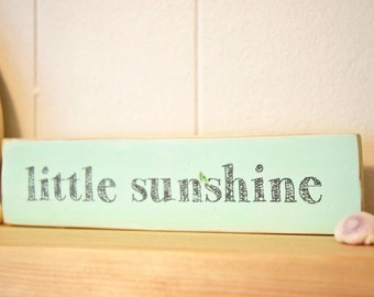 Modern Sunshine Nursery Sign Woodland hipster rustic farmhouse