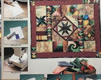 Marvelous Mini Quilts for Foundation Piecing by Ellen Rosintoski